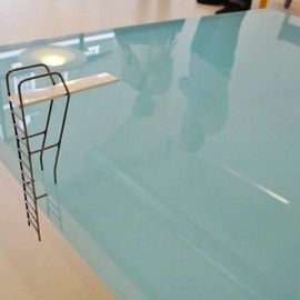Funny Coffee Table Swimming Pool