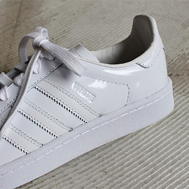 White Mountaineering × adidas Originals - CAMPUS 80S - WHITE