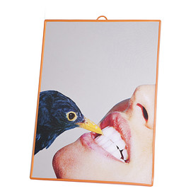Seletti - Medium Mirror -Crow-