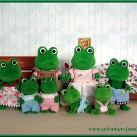 Calico Critters, シルバニアファミリー - sylvanian families frog