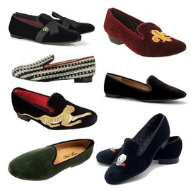 Stubbs & Wootton - Slippers Velvet Shoes