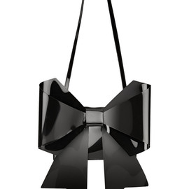 MM6, Maison Martin Margiela - Bow-embellished PU shoulder bag