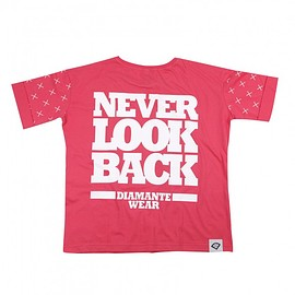 T-shirt Never Look Back (Coral)