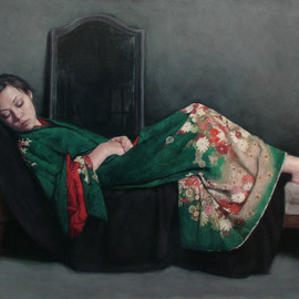 Stephanie Rew - Dark Mirror (Emerald Green)