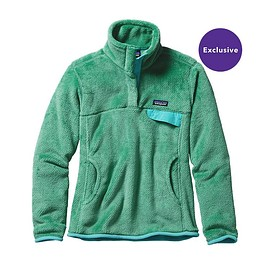 patagonia - Women\'s Re-Tool Snap-T\u00AE Pullover - Distilled Green - Distilled Green X-Dye DTGX