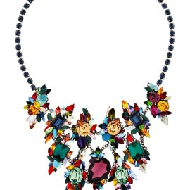 ERICKSON BEAMON - multicolor stone necklace