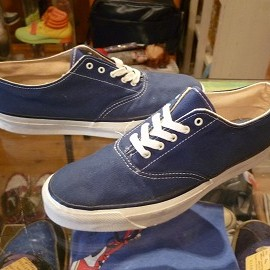 "TOP SIDER - 「<deadstock>70's TOP SIDER OXFORD navy""made in USA"" size:US6/h(24.5cm) 7800yen」完売"
