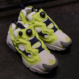 """Reebok - INSTA PUMP FURY OG """"JACKIE CHEN"""" """"LIMITED EDITION"""" WHT/YEL/GRY/NVY"""