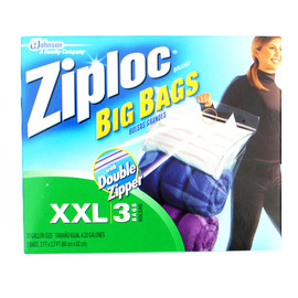 ZIPLOC - 3PACK STRAGE BIG BAG