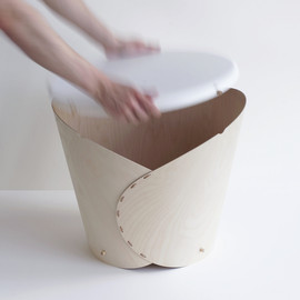 Oato. - Wrap - side table/storage