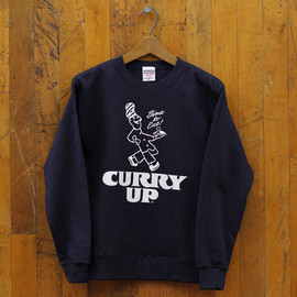 CURRY UP - CURRY UP SWEAT SHIRT #004