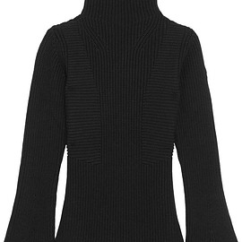 Moncler - Maglione ribbed wool turtleneck sweater