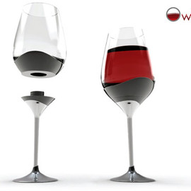 Sven MILCENT & Utopik Design Lab - 4 Glasses in 1: From Water to Wine, Champagne or Cognac