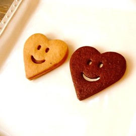 SAC about cookies - smile heart cookies