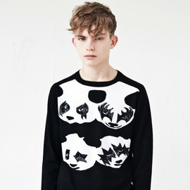 "Sibling - Panda ""KISS"" Jumper"