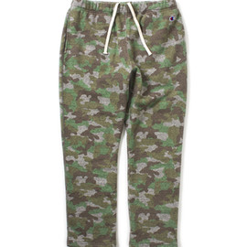 nanamica×Champion - Camouflage Sweat Pants