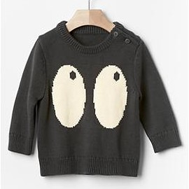 GAP - Spooky-eyes sweater