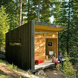 DIY Small Cabin - DIY Small Cabin, via Sunset Magazine