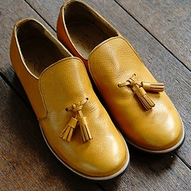 ohta - 16SS orange slipon