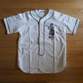"CYDERHOUSE - BASE BALL SHIRT ""WHITE"""