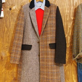 Harris Tweed  - BY×Harris Tweed 100th コート †