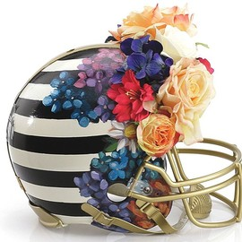 Nicole Miller - 'Haute Couture' Football Helmet(CFDA Members Design)