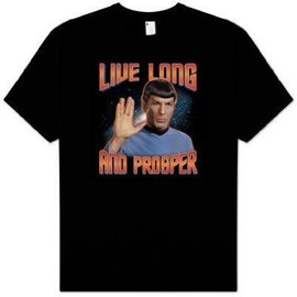 Star Trek - Star Trek : Live Long and Prosper T-Shirt