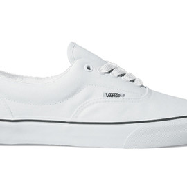 VANS - Canvas Era True White/Black