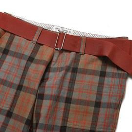 PEEL&LIFT - tartan army trousers