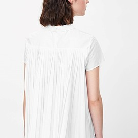 COS - Top with pleated back