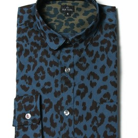 Paul Smith - ROUND COLLAR LEOPARD SHIRTS (PS LINE)