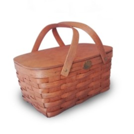 """PETERBORO BASKET COMPANY """" TRADITIONAL BASKET for FAMILIES """""""