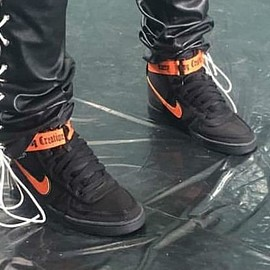 NIKE - Vandal (VLONE) - Black/Orange