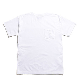 THE NORTH FACE PURPLE LABEL - 7oz H/S Pocket Long Tee-White