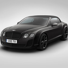 "Bentley - Supersports ""Ice Speed Record"" Convertible"