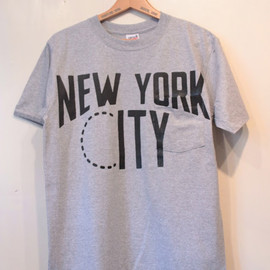 circus - pocket tee. (NEW YORK CITY)