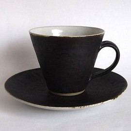 Coffee Cup&Saucer /White