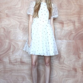 KAREN WALKER - Resort 2013 KAREN WALKER BAngelic Dress