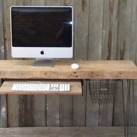 UrbanWoodGoods - Modern Industrial small desk by