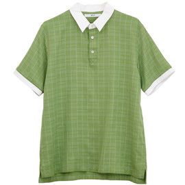 .efiLevol - Tennis Coart Check Short Sleeve Shirt