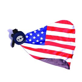 Chari & Co.,NYC - American Flag Portable Lens Cleaner -Navy