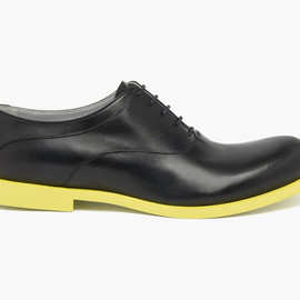 JIL SANDER - Two Tone Lace-Up Shoes