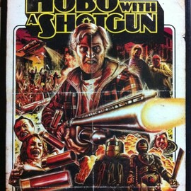 RUTGER HAUER主演 - DVD 『HOBO WITH A SHOTGUN』