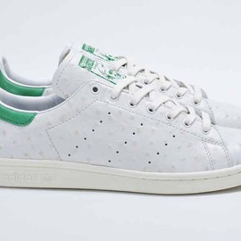 adidas originals - Stan Smith (Ostrich) - White/Green