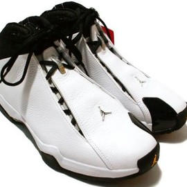 AIR JORDAN - Air Jordan 21 (XX1 or XXI) PE - White / Metallic Silver -