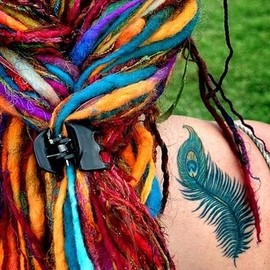 Rainbow Dreadlocks