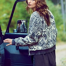 Free People - Love Story Quilted Bomber