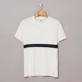 M.Nii - The Jonesy Stripe T-Shirt in Competition White