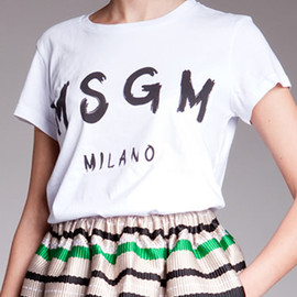 MSGM - T-SHIET 2013/CRUISE