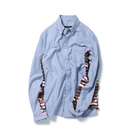 SOPHNET. - SIDE PANEL B.D SHIRT